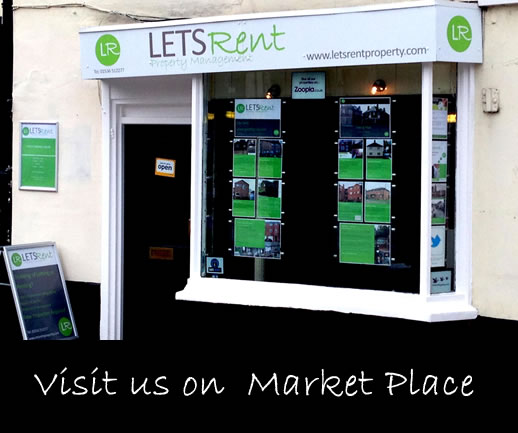 Lets Rent Property Ltd, 14 Market Place, Kettering, Northamptonshire NN16 0AJ